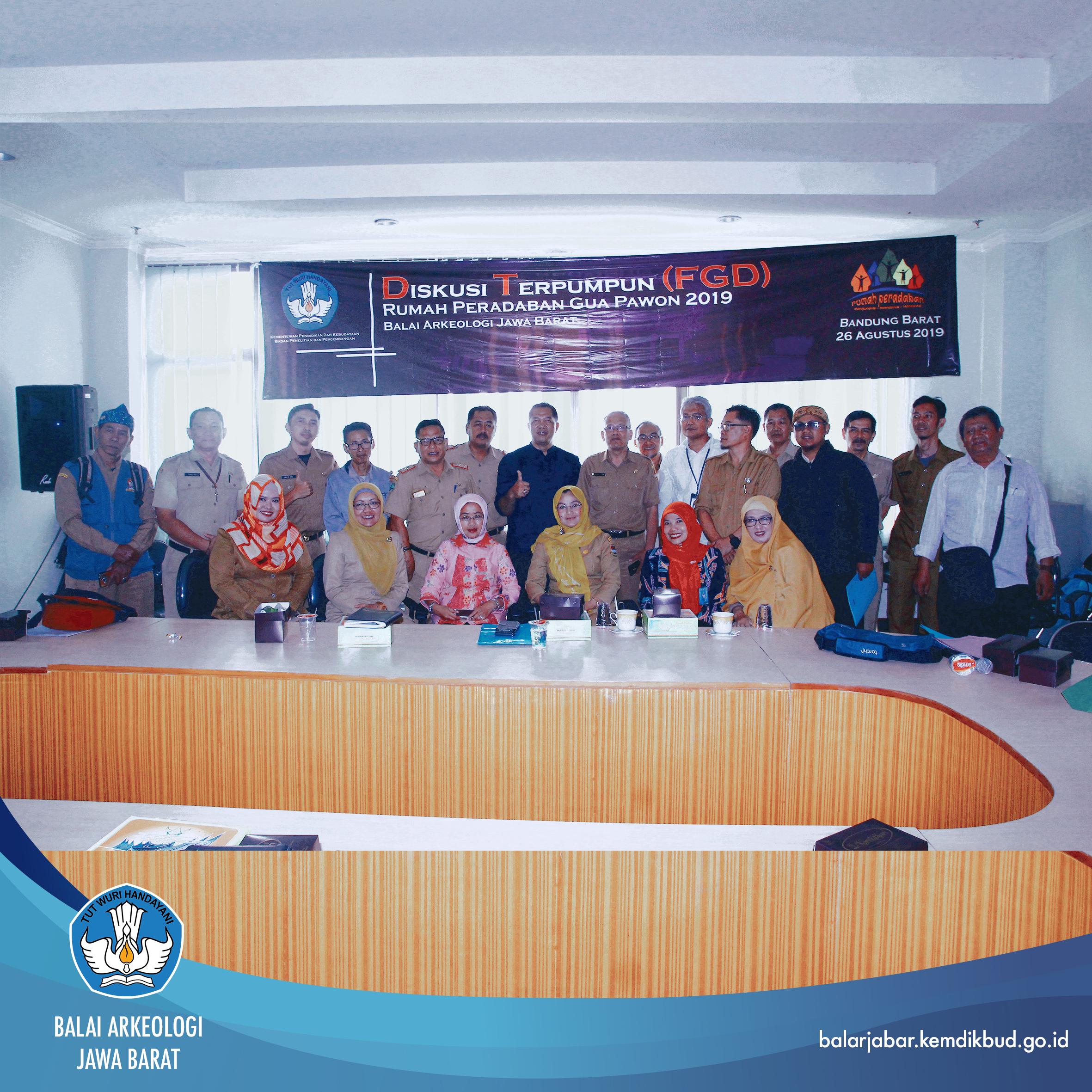 Diskusi Terpumpun (FGD) Rumah Peradaban Gua Pawon 2019