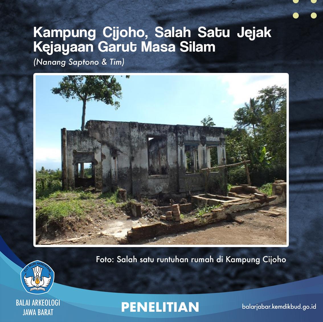 Kampung Cijoho Salah Satu Jejak Kejayaan Garut Masa Silam